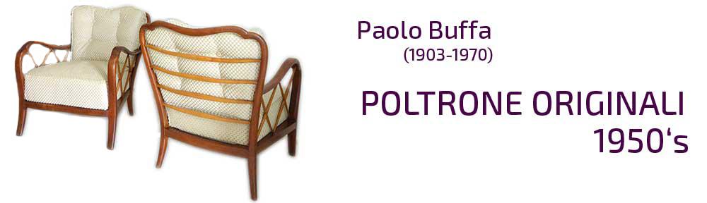 Poltrone Paolo Buffa originali